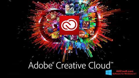 Captura de pantalla Adobe Creative Cloud para Windows 8.1