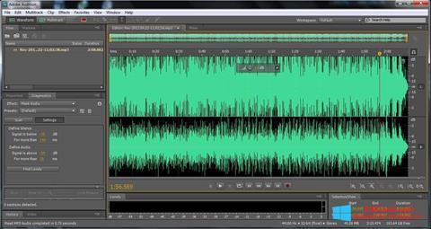Captura de pantalla Adobe Audition para Windows 8.1