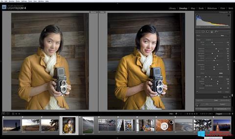 Captura de pantalla Adobe Photoshop Lightroom para Windows 8.1