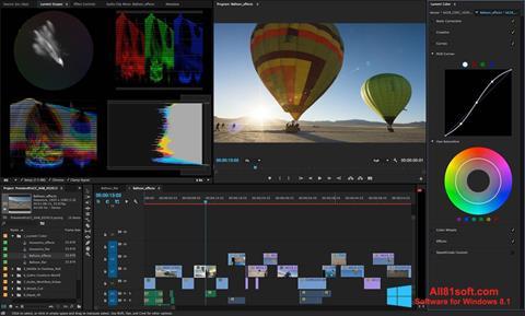 Captura de pantalla Adobe Premiere Pro para Windows 8.1