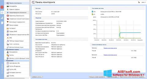 Captura de pantalla Kerio Control para Windows 8.1