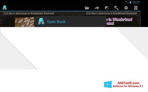 Captura de pantalla AlReader para Windows 8.1