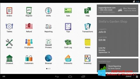 Captura de pantalla Clover para Windows 8.1