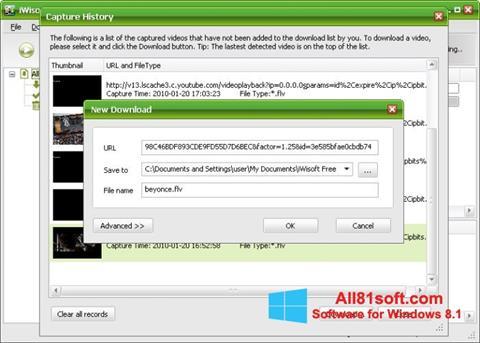 Captura de pantalla Free Video Catcher para Windows 8.1