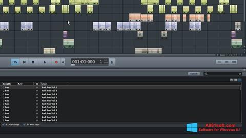 Captura de pantalla MAGIX Music Maker para Windows 8.1