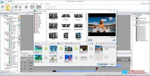 Captura de pantalla VSDC Free Video Editor para Windows 8.1