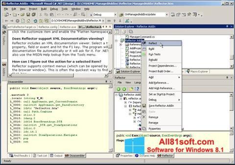 Captura de pantalla Reflector para Windows 8.1
