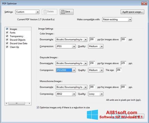 Captura de pantalla Adobe Acrobat Pro DC para Windows 8.1