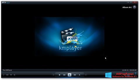 Captura de pantalla KMPlayer para Windows 8.1