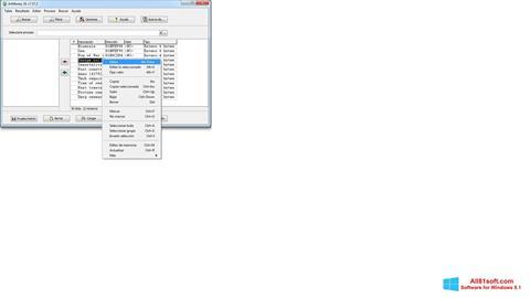 Captura de pantalla ArtMoney Pro para Windows 8.1