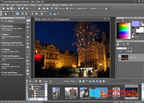 Captura de pantalla PaintShop Pro para Windows 8.1