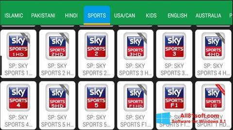 Captura de pantalla Net TV para Windows 8.1