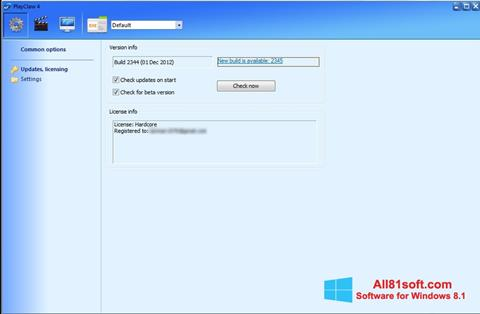 Captura de pantalla PlayClaw para Windows 8.1