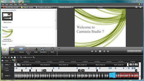 Captura de pantalla Camtasia Studio para Windows 8.1