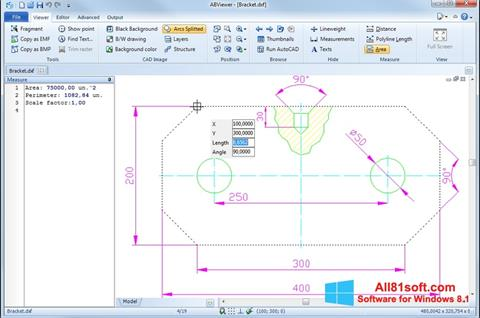 Captura de pantalla ABViewer para Windows 8.1