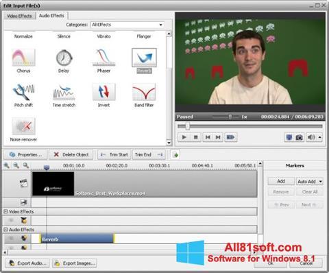 Captura de pantalla AVS Video Converter para Windows 8.1