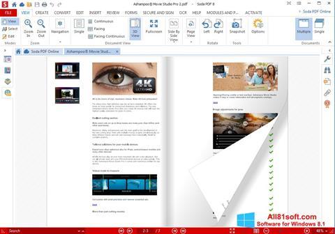 Captura de pantalla Soda PDF para Windows 8.1