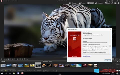 Captura de pantalla ACDSee Pro para Windows 8.1