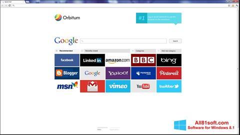 Captura de pantalla Orbitum para Windows 8.1
