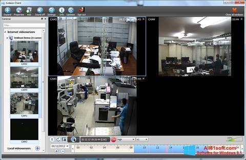 Captura de pantalla Ivideon Server para Windows 8.1