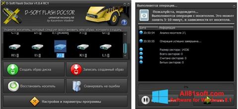 Captura de pantalla D-Soft Flash Doctor para Windows 8.1