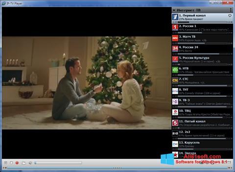 Captura de pantalla IP-TV Player para Windows 8.1