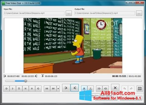Captura de pantalla Free Video Dub para Windows 8.1