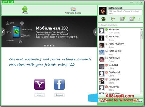 Captura de pantalla ICQ para Windows 8.1