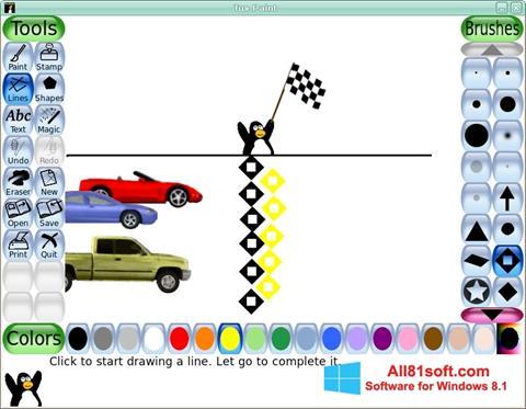 Captura de pantalla Tux Paint para Windows 8.1