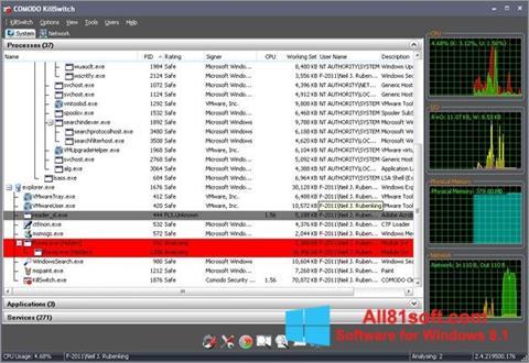 Captura de pantalla Comodo Cleaning Essentials para Windows 8.1