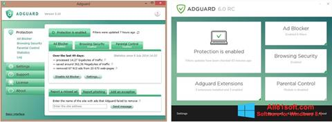Captura de pantalla Adguard para Windows 8.1
