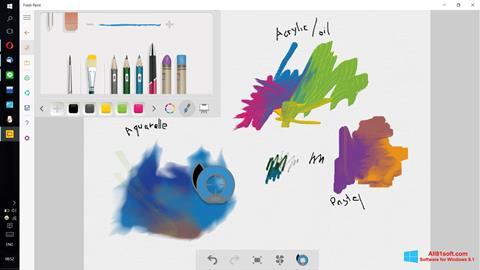 Captura de pantalla Fresh Paint para Windows 8.1