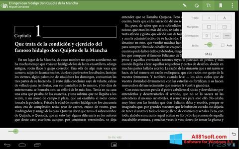 Captura de pantalla BookReader para Windows 8.1