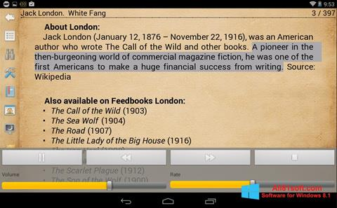 Captura de pantalla Cool Reader para Windows 8.1