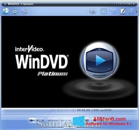 Captura de pantalla WinDVD para Windows 8.1