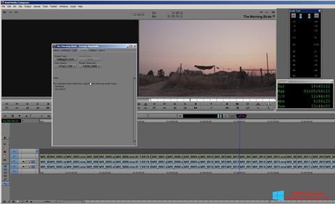 Captura de pantalla Avid Media Composer para Windows 8.1