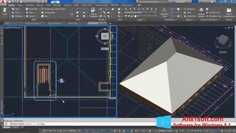 Captura de pantalla AutoCAD Architecture para Windows 8.1