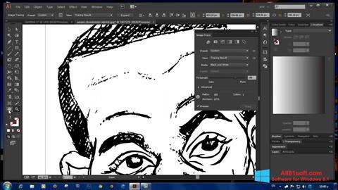 Captura de pantalla Adobe Illustrator CC para Windows 8.1