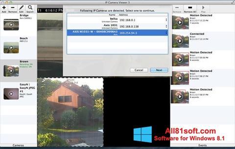 Captura de pantalla IP Camera Viewer para Windows 8.1