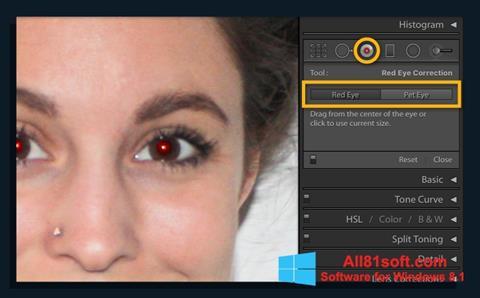 Captura de pantalla Red Eye Remover para Windows 8.1