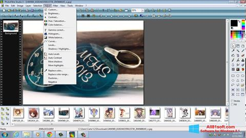 Captura de pantalla PhotoFiltre Studio X para Windows 8.1
