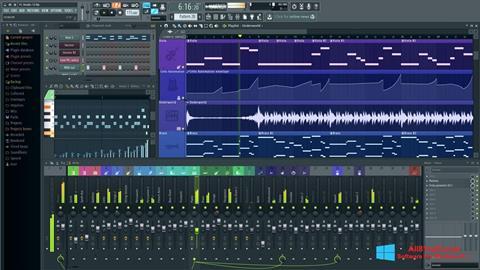 Captura de pantalla FL Studio para Windows 8.1