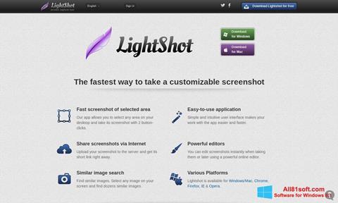Captura de pantalla LightShot para Windows 8.1