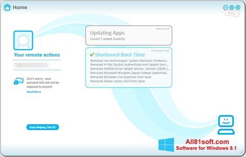 Captura de pantalla Soluto para Windows 8.1
