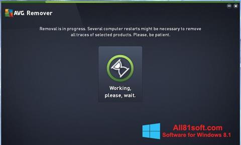 Captura de pantalla AVG Remover para Windows 8.1