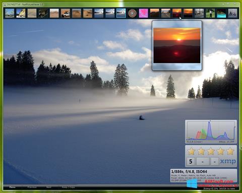 Captura de pantalla FastPictureViewer para Windows 8.1