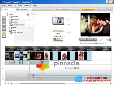 Captura de pantalla Pinnacle VideoSpin para Windows 8.1
