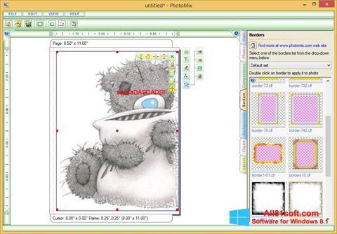 Captura de pantalla PhotoMix Collage para Windows 8.1