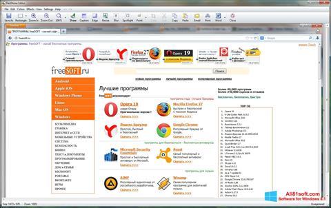 Captura de pantalla FastStone Capture para Windows 8.1